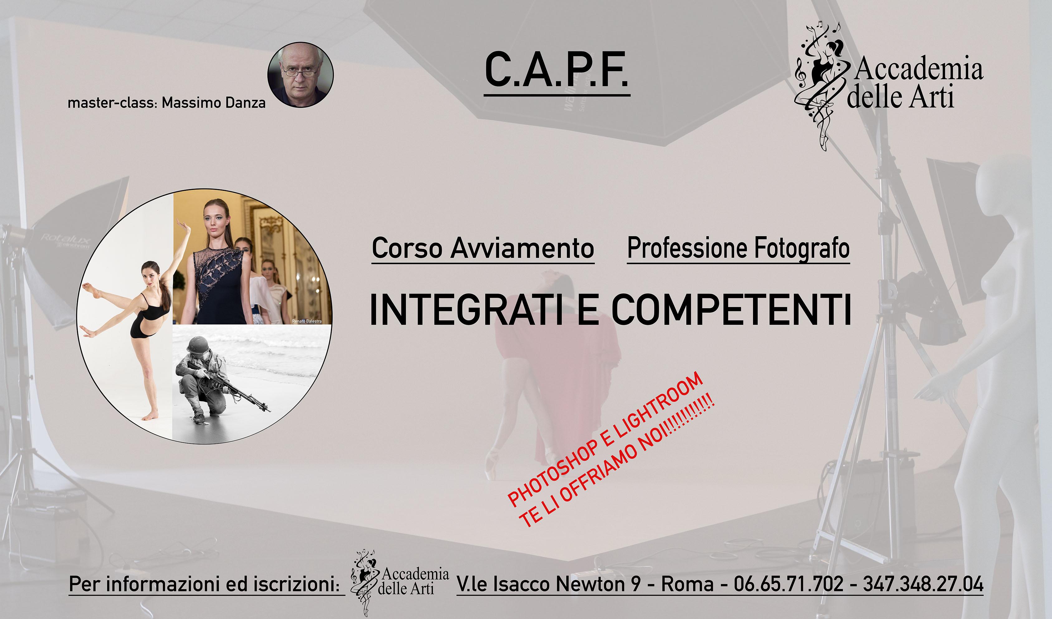 Corso di fotografia Accademia delle Arti Roma