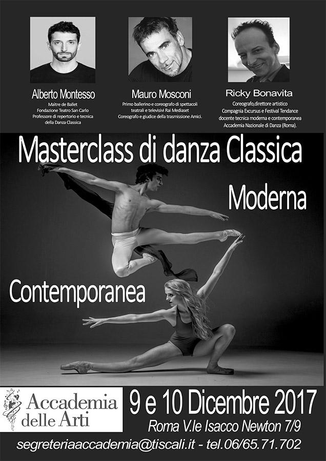 Masterclass di Danza Classica, Moderna e Contemporanea