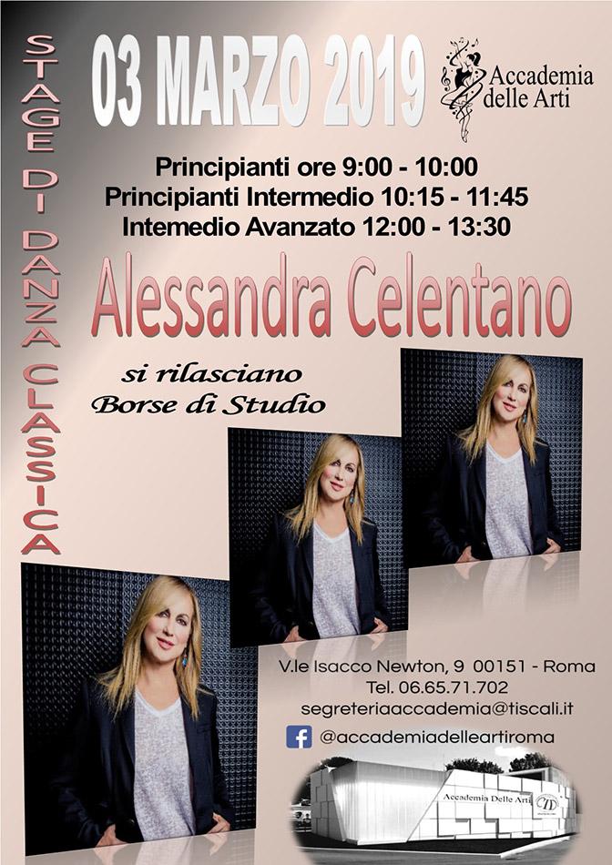 Stage di Danza Classica con Alessandra Celentano - Accademia delle Arti Roma